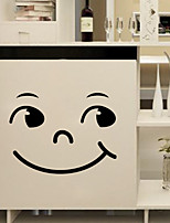 Wall Stickers Wall Decals Style Smiling Face PVC Wall Stickers
