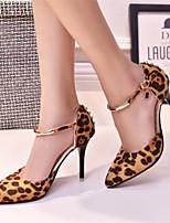 Scarpe Donna Finta pelle A stiletto A punta Scarpe col tacco Formale Animal