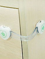 Baby Mate 12 PCS Child Proofing Cabinet Safety Strap Latches (White, 12 PCS)