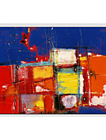 Oil Paintings Abstract Style , Canvas Material with Stretched Frame Ready To Hang SIZE:60*90CM.