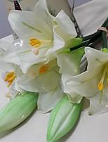 Buquês ( Amarelo/Fúcsia/Rosa/Marfim , Poliéster ) - de Lírios