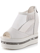Women's Shoes Wedge Heel Peep Toe Ankle Boots Casual More Colors Available