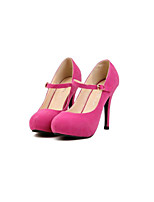 Women's Shoes  Stiletto Heel Heels/Round Toe Pumps/Heels Party & Evening/Casual Black/Pink