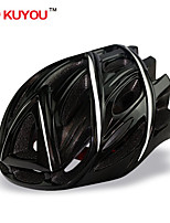 Casque ( Blanc/Noir , PC/EPS )-de Unisexe - pentru Cyclisme/Cyclisme en Montagne/Cyclisme sur Route/Cyclotourisme/Patin à glace