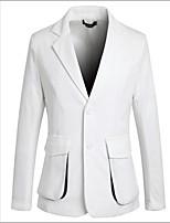 Men's Fashion Three-Dimensional Pocket Design Slim Suit