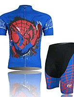 Amazing Spider Man Cycling Wear Short Sleeved Suit, Moisture Cycling Wear, Motor Function Material