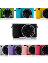 Dengpin fashionable Soft Silicone Armor Skin Rubber Camera Case Bag for Sony Alpha ILCE-6000L A6000 (Assorted Colors)