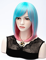 European And American Fashion Explosion Models Straight Hair Color Wig
