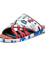 Zapatos de Hombre-Pantuflas-Casual-Tejido-Azul / Negro / Rojo / Blanco