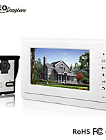 Shenzhen 7 Inch TFT LCD Color Screen Handfree Monitor 1v1 One Night Vision Outdoor Camera Unit Video Door Phone