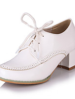 Girls' Shoes Casual Heels/Round Toe  Pumps/Heels Green/Pink/White