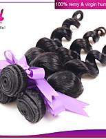 Peruvian Loose wave Hair Weaving 3Pcs/Lot Unprocessed Virgin Peruvian Hair Extension Human Hair Bundle