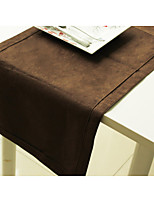 100% Polyester Suede Table Runner Pintuck Table Runner