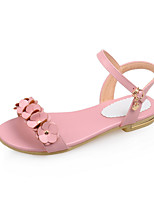 Women's Shoes  Flat Heel Comfort Sandals Outdoor/Dress/Casual Pink/Purple/White