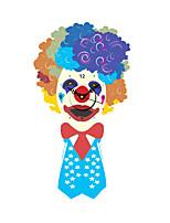 Modern Colorful Joker Pattern Wall Clock 15.7*29.5 inch / 40*75 cm