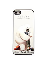 Personalized Gift The Hug Design Aluminum Hard Case for iPhone 5/5S
