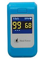 sanar vigor dedo oxímetro de la saturación de oxígeno arterial pulso pod-2 pulso latido oxímetro arterial de medición