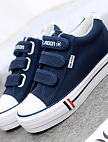Scarpe Donna - Sneakers alla moda - Tempo libero / Ufficio e lavoro / Casual - Creepers / Punta arrotondata - Piatto - Di corda - Blu