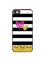 Personalized Gift The Stripe Design Aluminum Hard Case for iPhone 5/5S