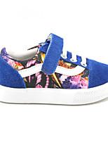 Flade sko ( Sort/Blå/Rød ) - GIRL - Rund tå