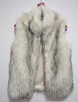 Women's Copy The Fox  Fur Vest