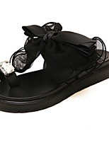 Women's Shoes Sandals/Slippers Casual Black/White