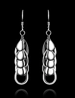 Cute/Party/Casual Sterling Silver Drop Earrings