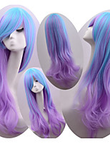 New Style Cosplay Natural Wave Hair Wigs Synthetic Wave Hair Wigs