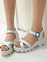 Women's Shoes  Stiletto Heel Open Toe Sandals Office & Career/Dress Black/Blue/Pink/White
