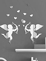 cupido specchio diy decalcomanie adesivi murali di arte