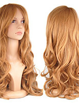 Blone Body Wave Hair Wigs Synthetic Hair Wigs Europe Style