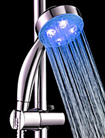 Blue ABS  LED Color Changing Hand Shower