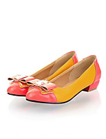 Girls' Shoes Casual Round Toe  Flats Black/Yellow/Beige Gifts insoles, laces, shoe, socks, color stone,