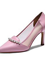 Women's Shoes Komanic Leather Stiletto Heel Pointed Toe Pumps Shoes More Colors available