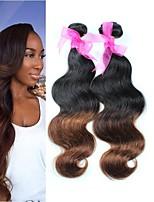 3 pcs beaucoup 8 cheveu humain d'extension de cheveux