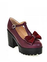 Women's Shoes Synthetic Stiletto Heel Heels/Basic Pump Pumps/Heels Office & Career/Dress/Casual White/Beige/Burgundy