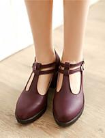 Women's Shoes Synthetic Low Heel Heels/Basic Pump Pumps/Heels Office & Career/Dress/Casual Black/Blue/Brown