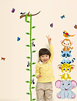Wall Stickers Wall Decals Style Pea Angle Measure Your Height PVC Wall Stickers