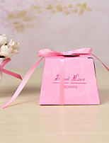 25 Piece/Set Favor Holder - Cubic Card Paper Favor Boxes Non-personalised