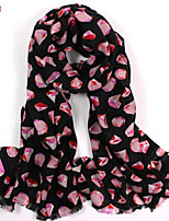 Women's Fashion 100% Wool Printed Scarf