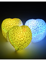 10PCS LED Charging Color Rose Night Light Creative Romantic Wedding Decoration Party Supplies (Random Color)