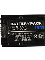 FV70 videocamera batteria 2500mah per SONY HDR-xr hdr-cx serie hdr-hc