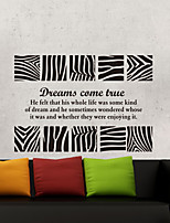 Wall Stickers Wall Decals, Modern Simple zebra PVC Wall Stickers