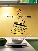 Wall Stickers Wall Decals Style Have A Good Time English Words & Quotes PVC Wall Stickers