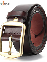 ALLFOND Men Party/Work/Casual Calfskin Buckle/Waist Belt PZK401101