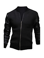 Men's Casual Long Sleeve Regular Jacket