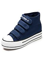 Scarpe Donna Di corda Piatto Comoda/Punta arrotondata Sneakers alla moda Tempo libero/Casual Nero/Blu/Rosso/Bianco