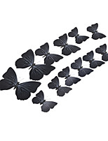 12pcs  3D Simulation Butterfly Wall Stickers Art Decals