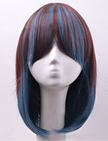 Hot Sale American Popular Short Straight Hair Wigs Synthetic Hair Wigs