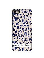 - für iPhone 5/5S - modern/Karton/Spezielles Design/Sport/Totenschädel/Leopard Muster - Plastik/Metall - Mehrfarbig